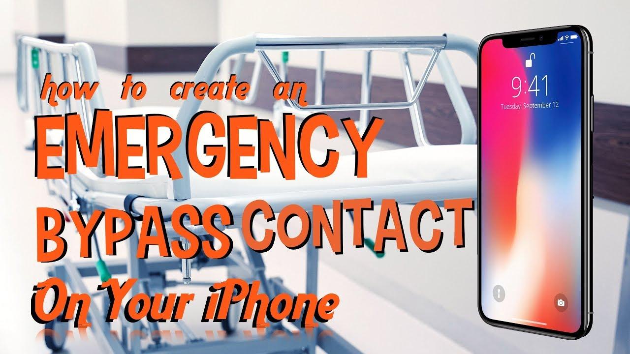 iphone ringtone emergency bypass