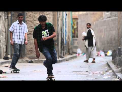 The skaters of Sanaa