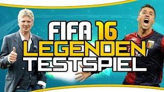 fifa 16 ultimate team   wir testen legenden ab geht s mit crespo effenberg suker