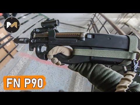 ВПЕРВЫЕ ИГРАЮ С FN P90. СТРАЙКБОЛ