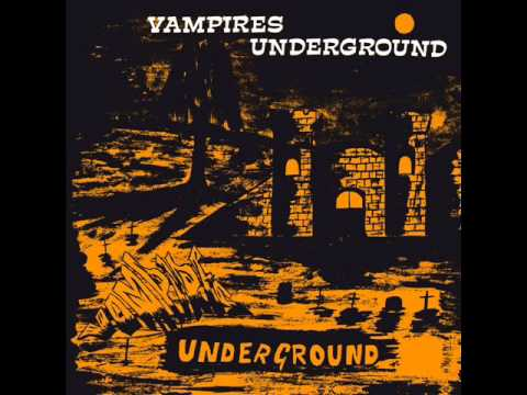 THE VAMPIRES - Vampires Underground - HINDU-SOUTH AFRICAN PSYCH FUNK - LP/CD on PHARAWAY SOUNDS