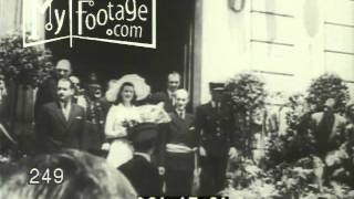 1949 Rita Hayworth Marries Prince Aly Khan
