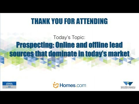 Prospecting: Online and Offline Lead Sources That Dominate in Today's Market
