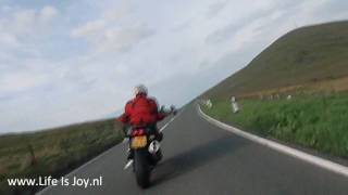 Isle of man Mountain course IOM TT Mad Sunday Ramsey to Douglas on BMW R1200GS