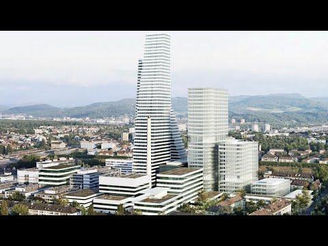 Basel: Roche eröffnet höchstes Hochhaus der Schweiz