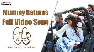Mummy Returns Full Video Song  A Aa Full Video Songs  Nithiin, Samantha, Trivikram