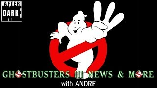 Ghostbusters 3 Announcement, Teaser, and News - with Andre - MEAD Live
