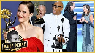 Emmys 2018 Recap: Maisel Sweeps, Drag Race Wins, & A Live Proposal!? | Daily Denny Live