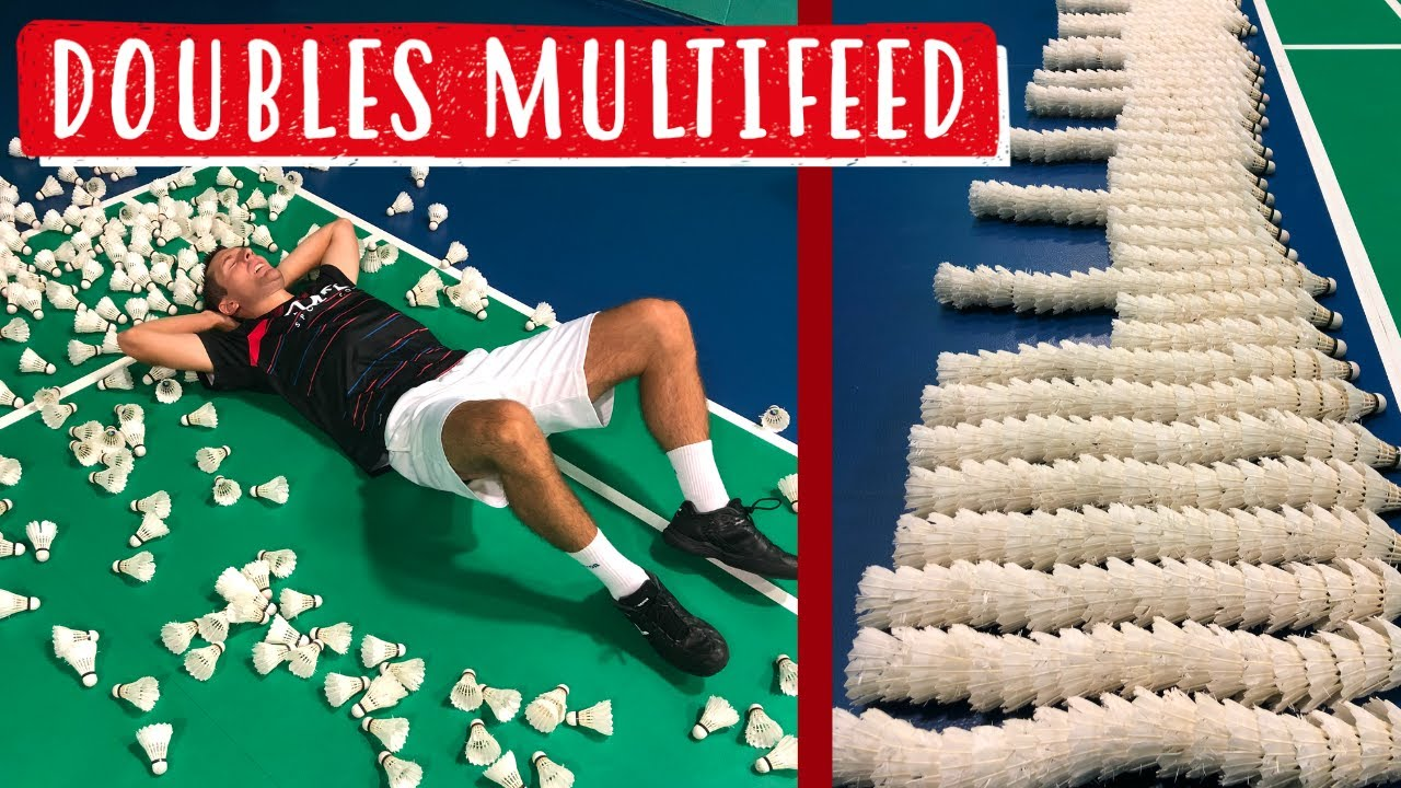 Doubles Multifeed Exercises - Training to Quickly Improve Your Badminton!