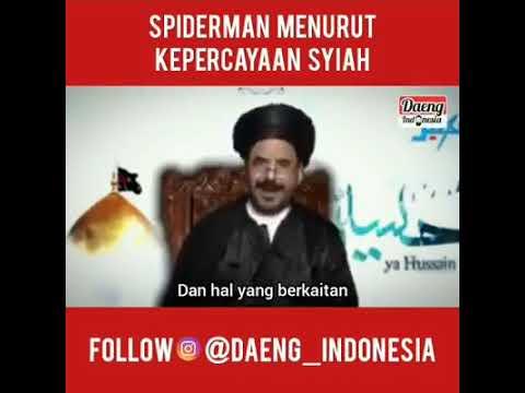 Kekonyolan Agama Syiah : Spiderman Pecinta Ahlul Bait