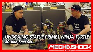 Unboxing Kura Kura Ninja 40 juta ! by Prime1 Studio !  4 statue sekaligus
