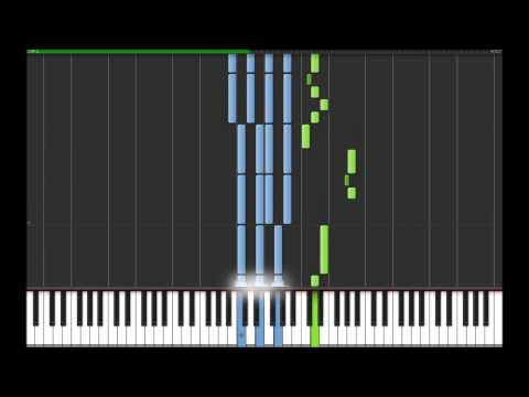 Joe Hisaishi - The Changing Seasons on Synthesia