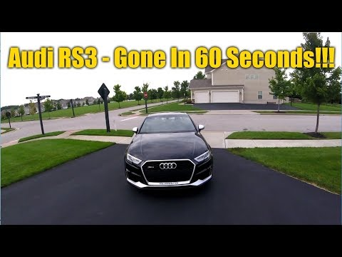 2017 Audi RS3 Consumer Review and Why I Sold it after One Week...