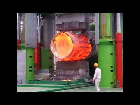 13000 Ton large open die forging press