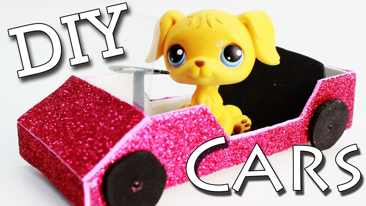 Miniature car tutorial diy for lps and doll youtube ccuart Choice Image