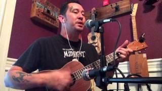 just breathe by pearl jam baritone ukulele cover