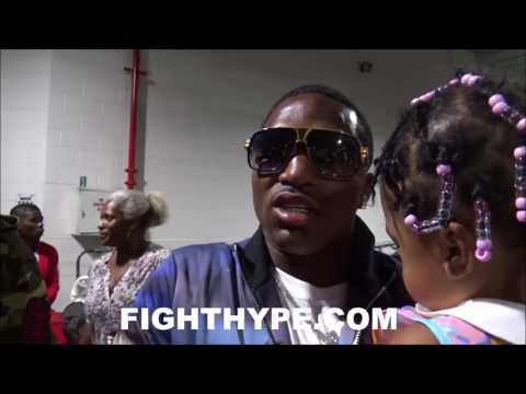 ADRIEN BRONER IMMEDIATELY AFTER LOSS TO MIKEY GARCIA: