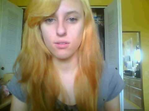 hair bleaching my hair attempt 2 p youtube