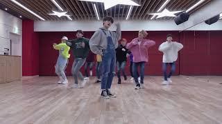 MIRRORED Stray Kids get cool Dance practice mirror