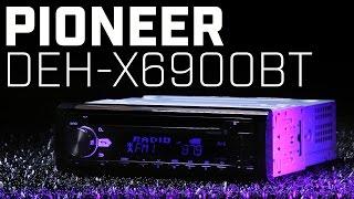 Pioneer DEH-X6900BT Single DIN Bluetooth Receiver