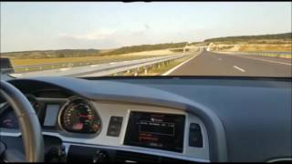 FATIH BOGALAR & TA ME ETMAJE Audi A6 3.0 Top speed