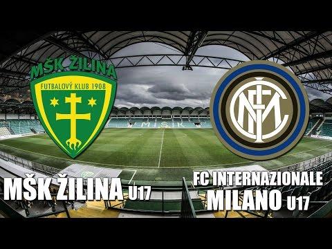 Záznam: MŠK Žilina U17 - FC Internazionale Milano U17 0:2 (0:0)