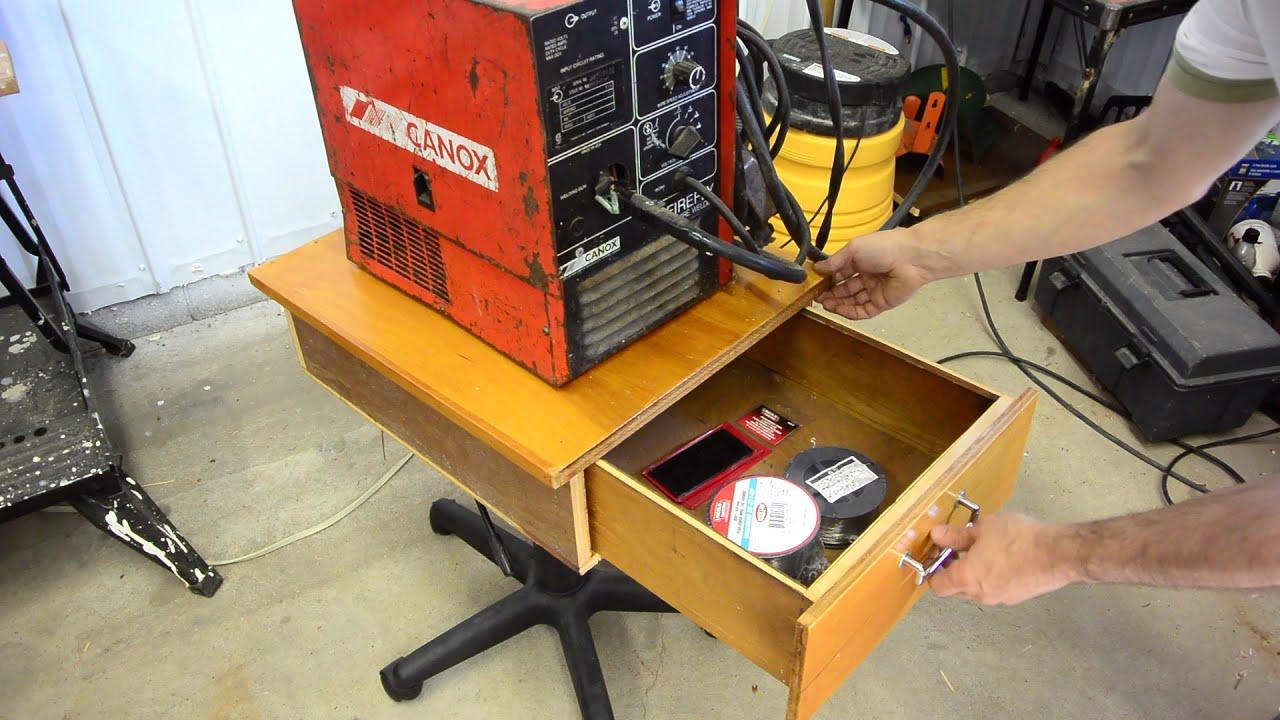 Office Chair To Welding Cart