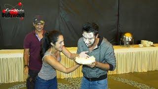Birthday Celebrations Of 'Qaidi Band' Actor Aadar Jain With Anya Singh & Habib Faisal