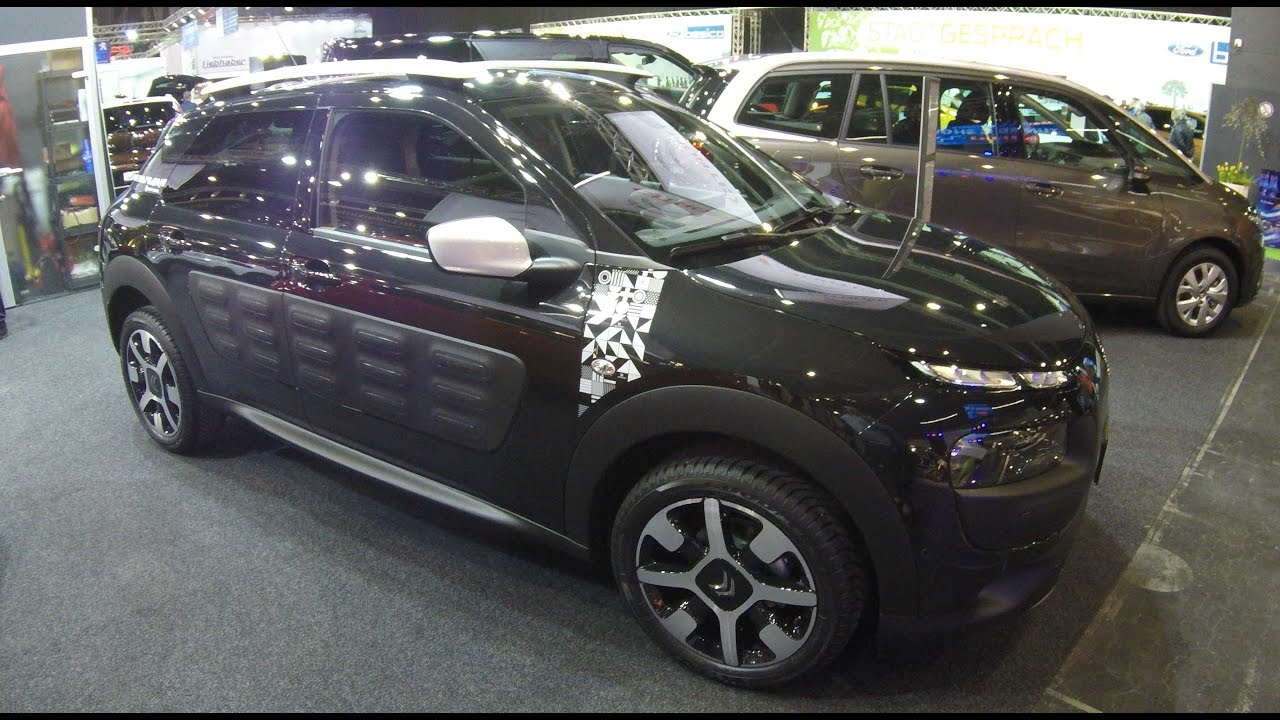 Citroen C4 Cactus Rip Curl Edition Black Colour Walkaround Interior Model 2017 Youtube