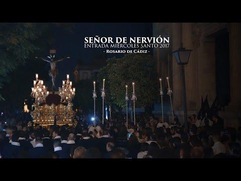 """Entrada Cristo de la Sed de Nervión 2017 - 4K UHD - Rosario de Cádiz """"Señor de Nervión"""""""