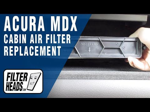How to Replace Cabin Air Filter 2014 Acura MDX