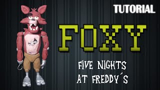 Tutorial Foxy en Plastilina / FNaF / How to make a Foxy with Clay
