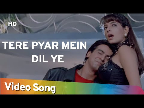 tere-pyar-mein-dil-ye- -jurmana-(1996)- -ronit-roy,-kanchan,-rambha- -filmi-gaane