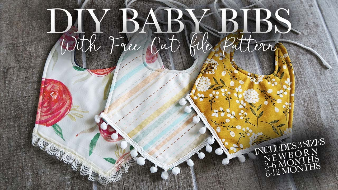 Baby Bibs With Free Pattern
