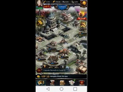 How To Upgrade Your Castle In Clash Of Kings FAST... Clash Of Kings Tips