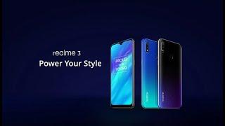 OPPO Realme 3 Розпакування відмінного телефону на Helio Р60