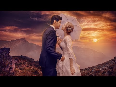 Wedding Photoshop Manipulation | Photo effects | Color grading| Background change thumbnail
