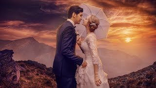 Wedding Photoshop Manipulation | Photo effects | Color grading| Background change