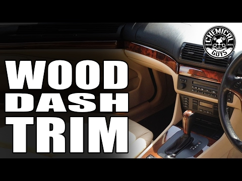 How To: Polishing Wood Trim - Chemical Guys Car Care BMW E39 Porter Cable