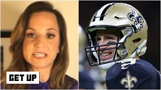 The Saints are looking at a Week 15 return for Drew Brees - Dianna Russini | Get Up