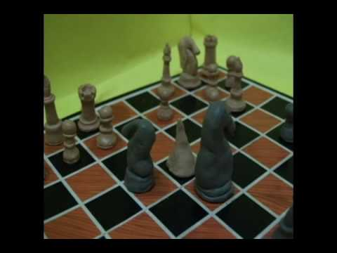 clay chess by harez from MIIM (Malaysia Institute Of Integrative Media)