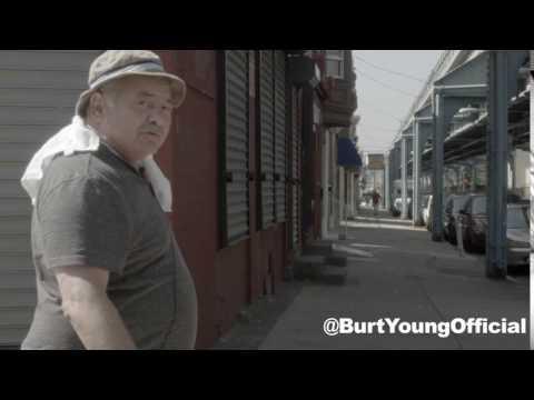 ROCKY'S Burt Young by MICKEY'S GYM!
