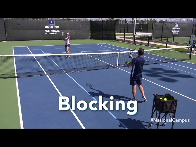 Improve your tennis game: Overhead drill  - Buy American