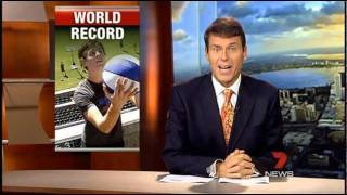 Channel 7 News Guinness World Record Shot - How Ridiculous