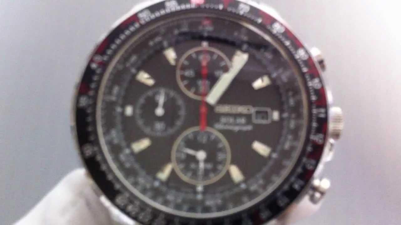 8947b47a964 Men s Seiko Solar Power Chronograph Watch SSC007 - YouTube