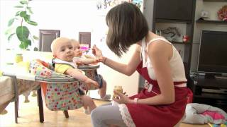 La diversification alimentaire - Episode 9 - Pampers Baby Boom