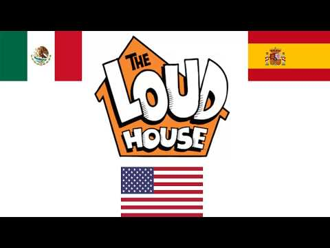 Intro De The Loud House ( Español Latino, Español Castellano, Ingles)
