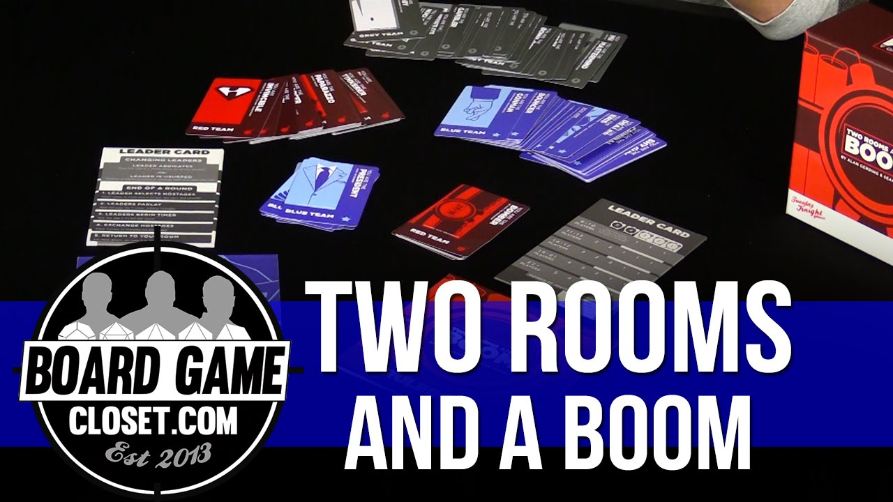 Two Rooms and a Boom - YouTube