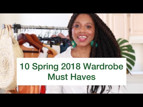 Top 10 Spring 2018 Trends To Add To Your Wardrobe