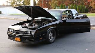 $18,995 -1986 Chevrolet Monte Carlo SS For Sale~Worked 355~525hp~Same Owner Since 1989